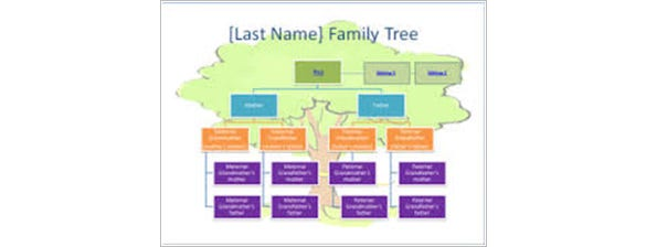 create a nice background for your family tree