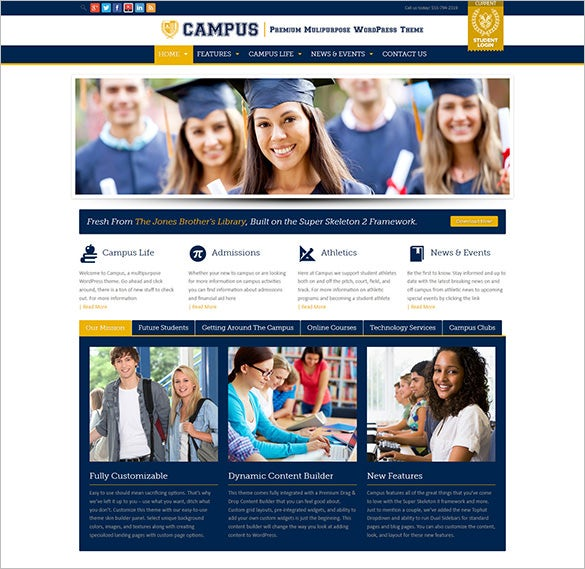 multipurpose education blog theme
