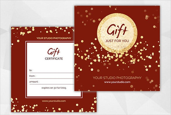 20 christmas gift certificate templates free sample example format download free. Black Bedroom Furniture Sets. Home Design Ideas