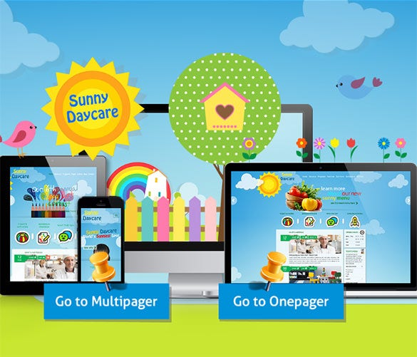 education php theme for kindergarden1