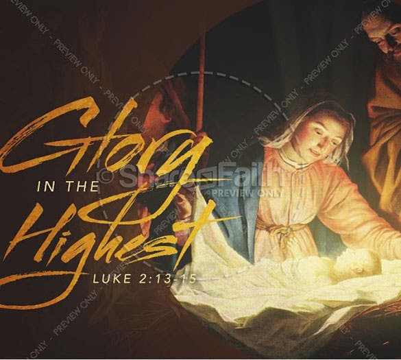 glory in the highest christmas powerpoint download