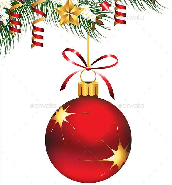 single christmas ornament ai illustrator download
