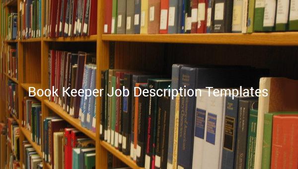 bookkeeperjobdescriptiontemplate