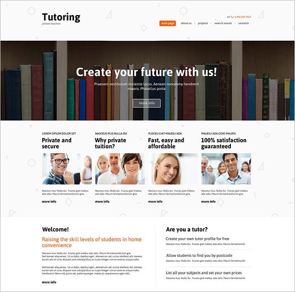 education drupal template download