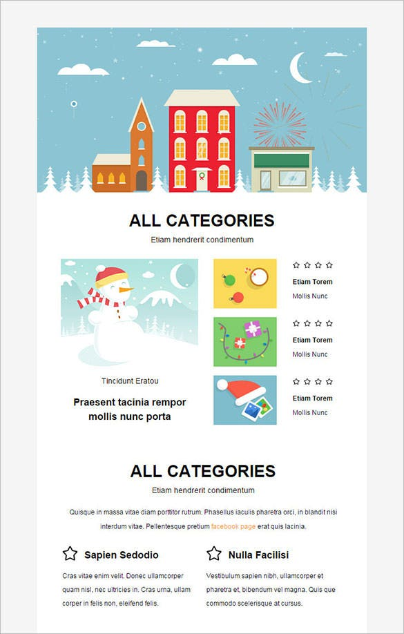 ... Christmas email template ribbon christmas gingerbread email template