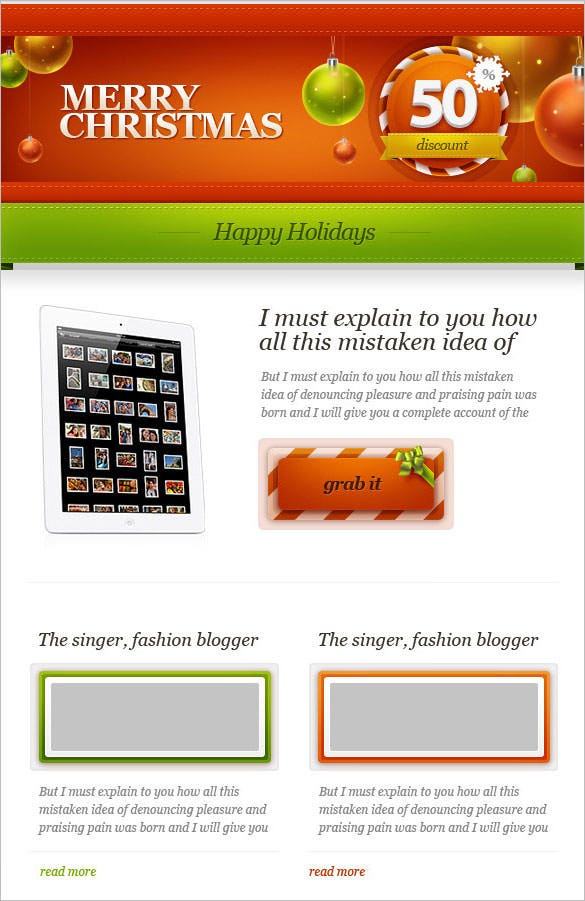 download feastmail christmas email template html files 19