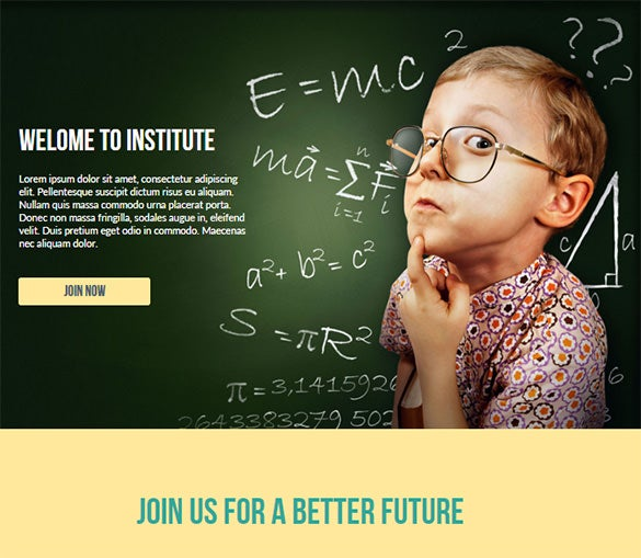 education website themes download
