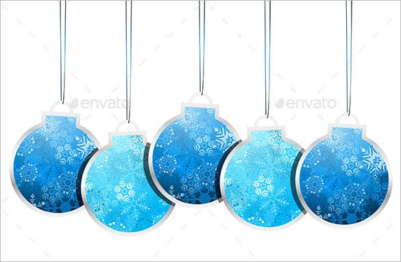 10 premium christmas label template eps download