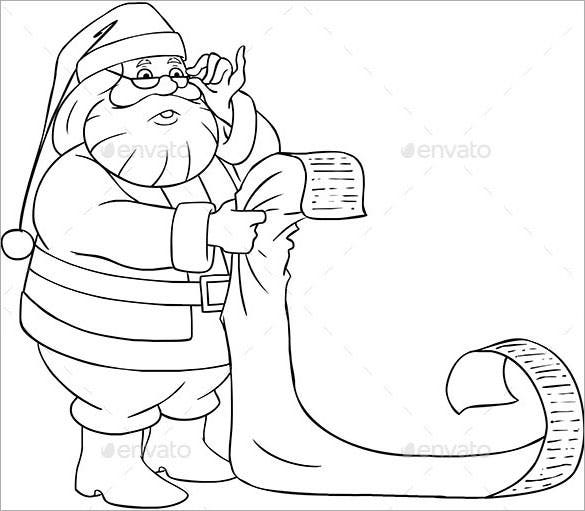 santa claus reads from christmas list eps download