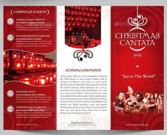 31 christmas brochures templates free psd eps ai for Christmas brochure template