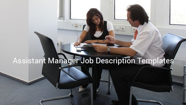 assistantmanagerjobdescriptiontemplate