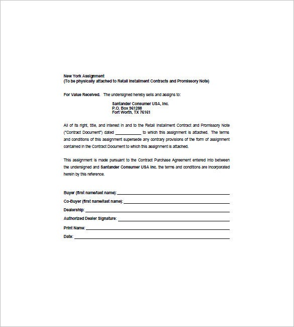 collateral assignment of mortgage