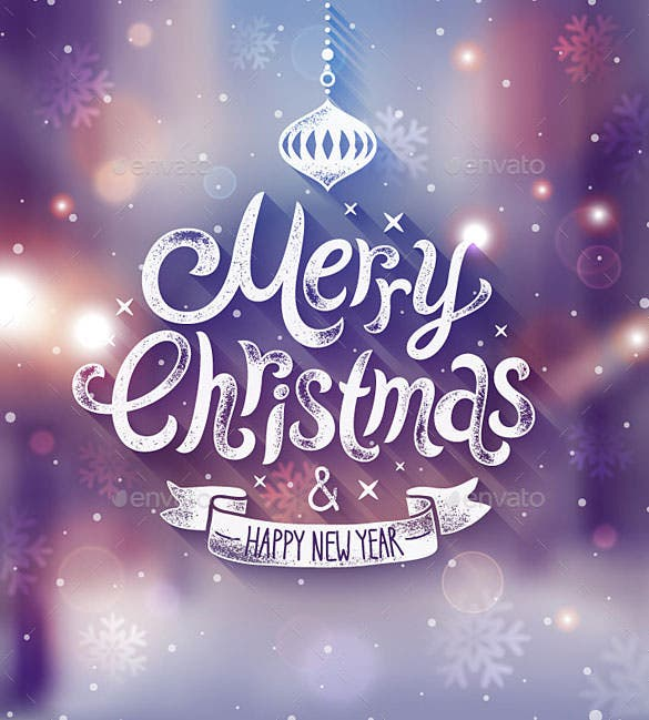 christmas poster template ai illustrator format download