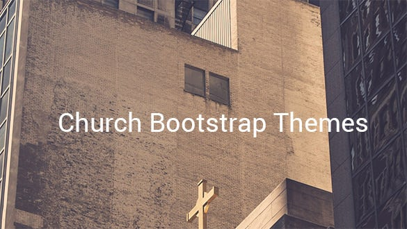 church bootstrap themes