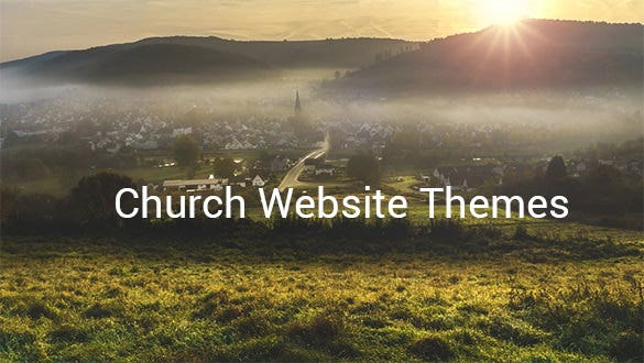 church website themes