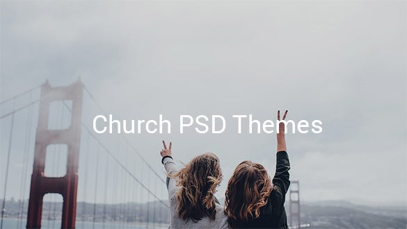 church psd themes3