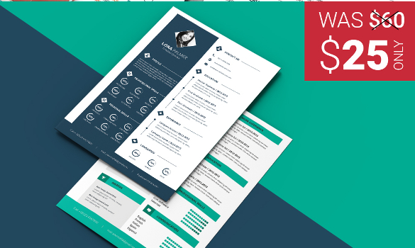 51+ Creative Resume Templates – Free PSD, EPS Format Download | Free ...