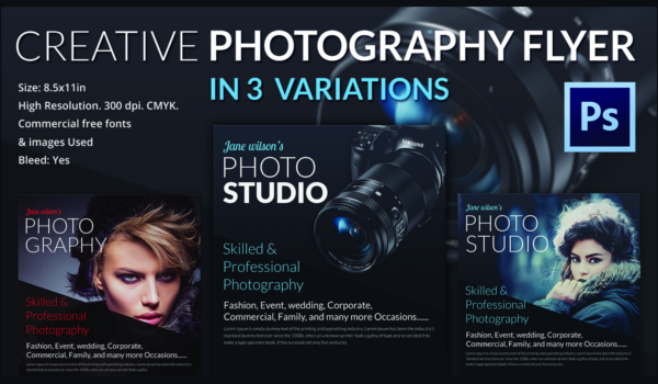 31  photography flyer templates