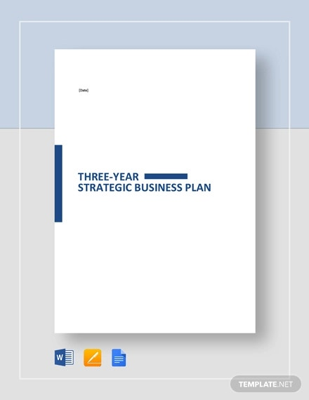 3 year strategic plan template