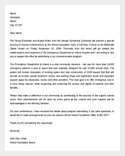 Sample-Formal-Fundraising-Letter-Template