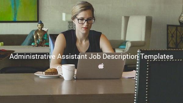 administrativeassistantjobdescriptiontemplate