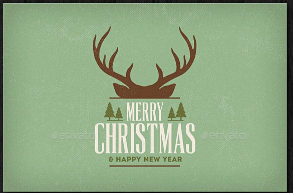 12 vintage christmas card background psd format