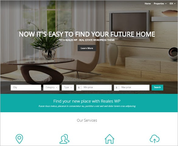21+ Real Estate Blog Themes & Templates | Free & Premium Templates