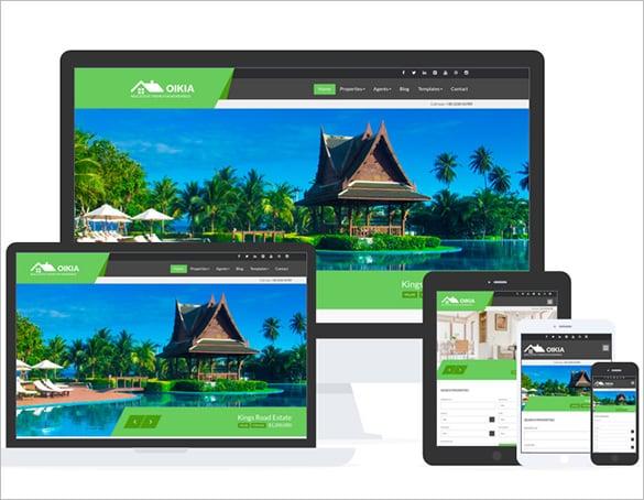 amazing real estate blog theme download