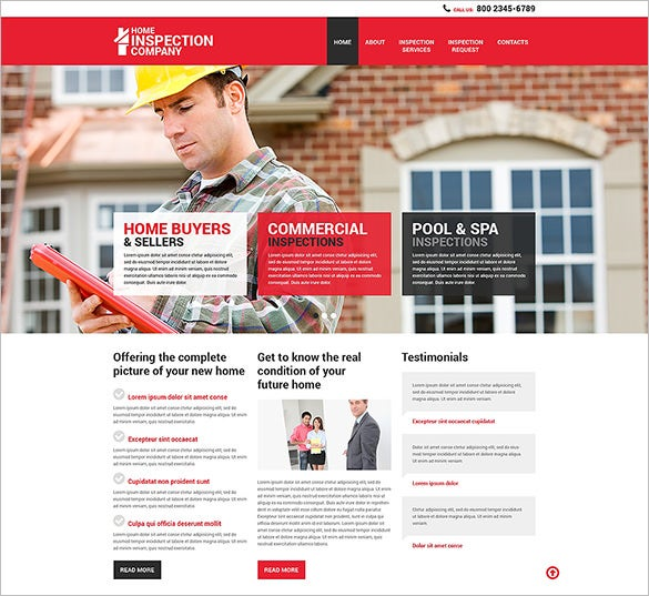 mortgage responsive html5 template