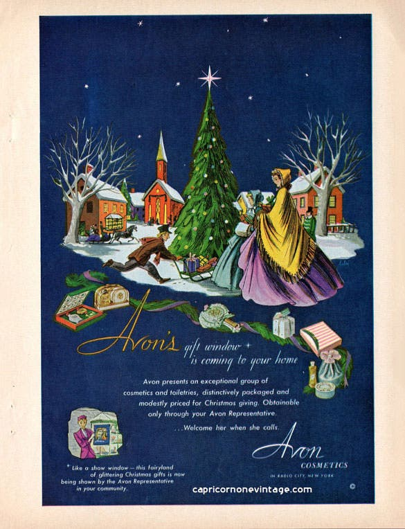 vintage retro wall decor christmas illustration download