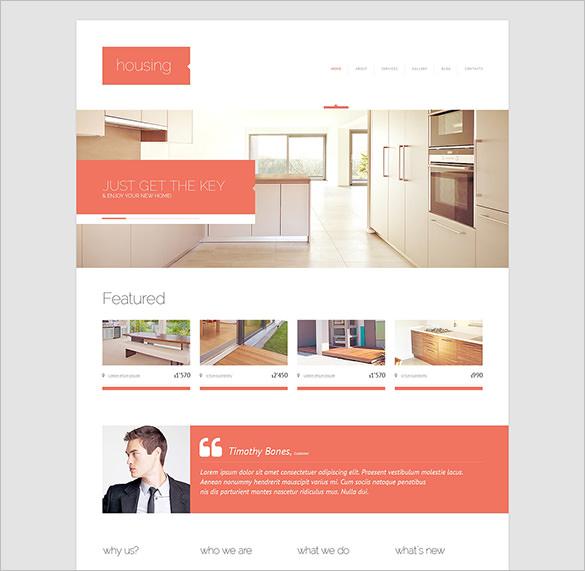 premium renting agency html5 theme