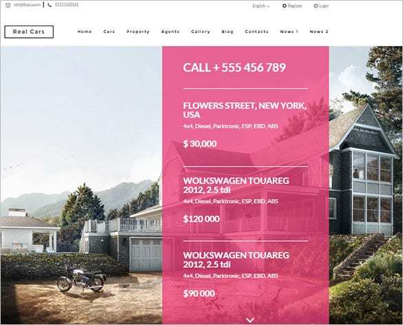 realhouse real estate html5 theme