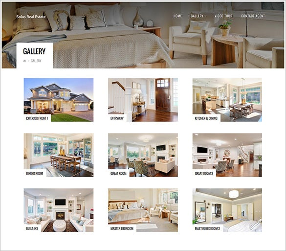real estate property html5 theme download