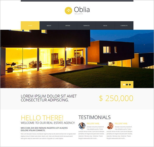 dream house bureau html5 theme