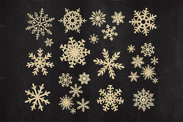16 original vector christmas snowflakes png download