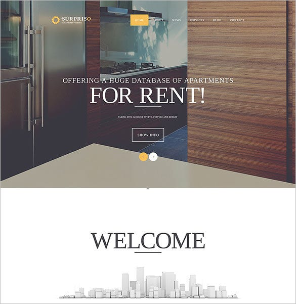 real estate surpriso bootstrap template