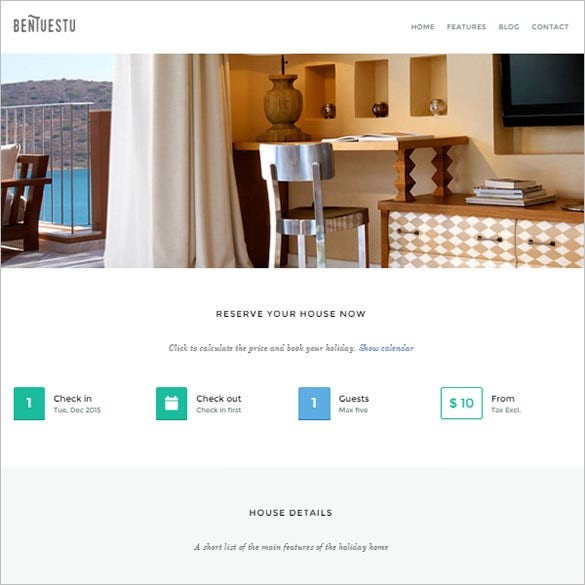 responsive real estate bootstrap theme
