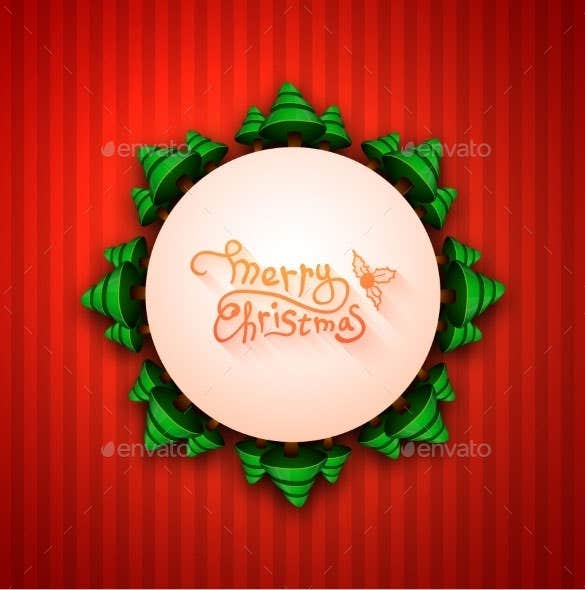 merry christmas lettering calligraphy greeting download