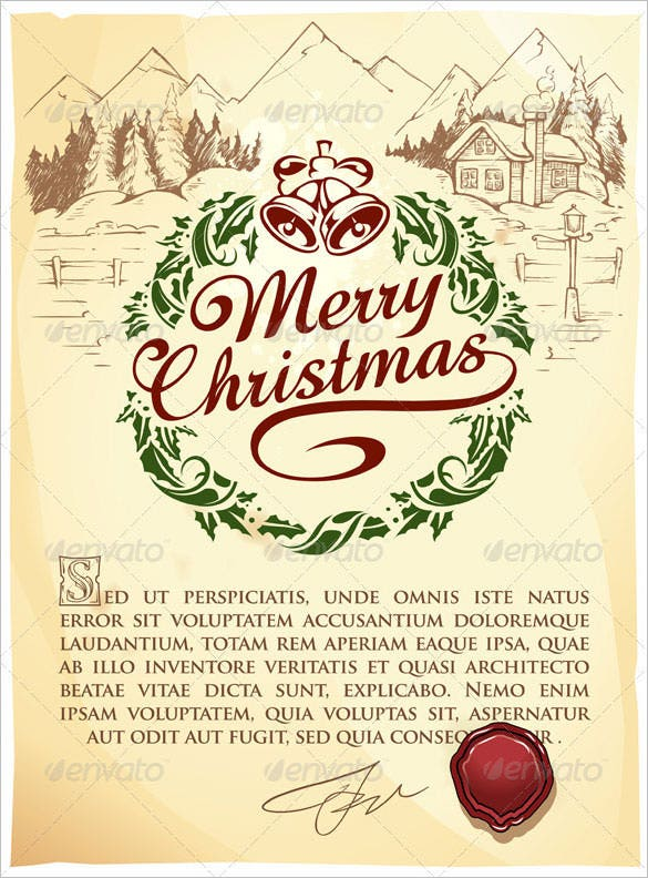 calligraphic christmas lettering eps format download