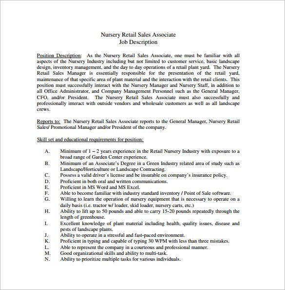 Duties And Responsibilities Of A Sales Associate – Sales Representative Job Description