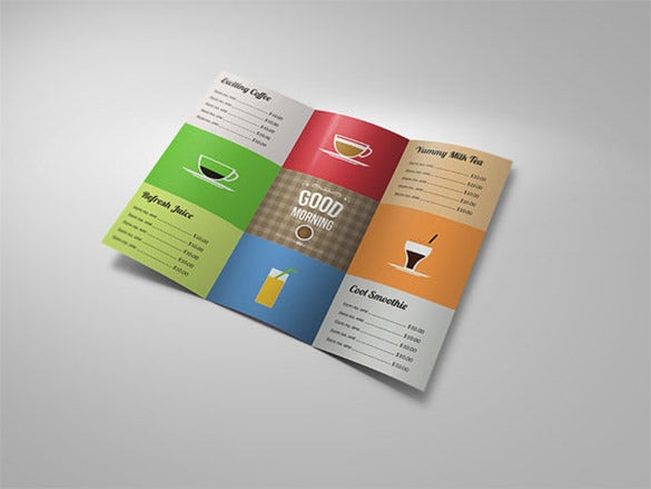 Restaurant Brochure Templates Free PSD EPS AI InDesign - Tri fold brochure free template