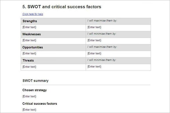 Swot-and-critical-success-factors
