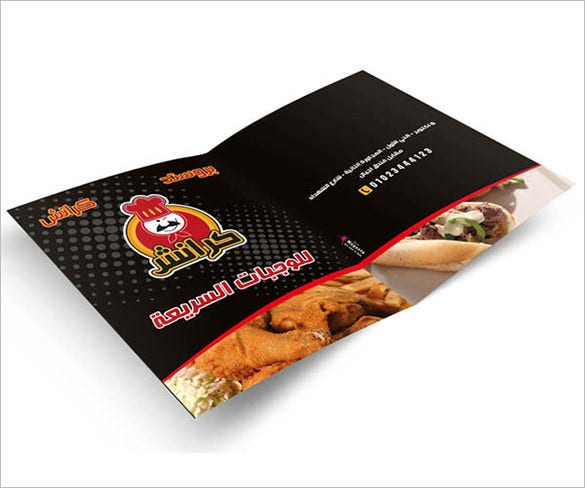 crach restaurant brochures