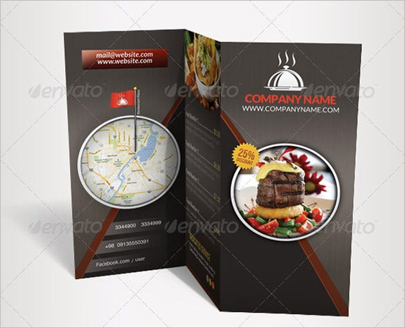 restaurant menu brochure flyer