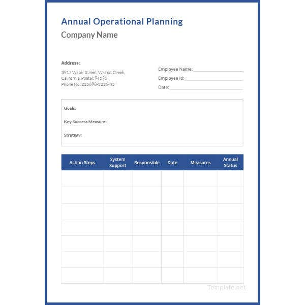 annual-operational-plan-template