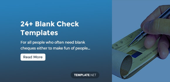24 Blank Check Template Doc Psd Pdf Vector Formats