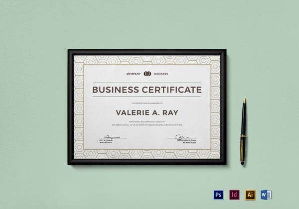 business-certificate-template
