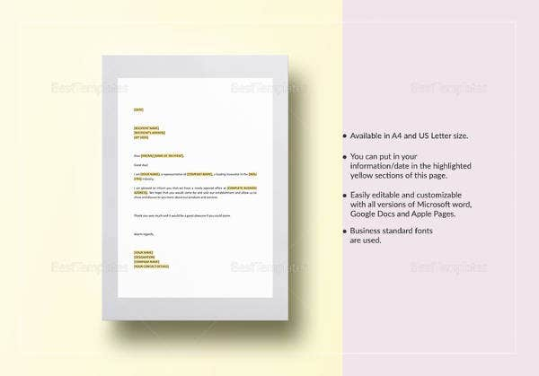 business-introduction-letter-template
