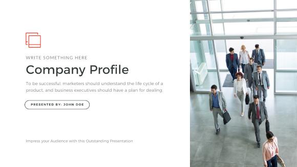 company profile apple keynote template