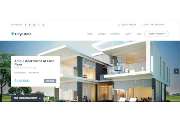complete-real-estate-wordpress-theme
